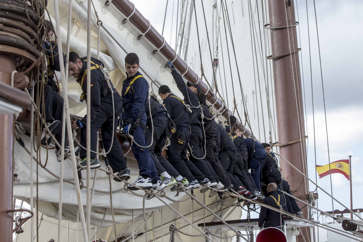 El Elcano llega a Canarias