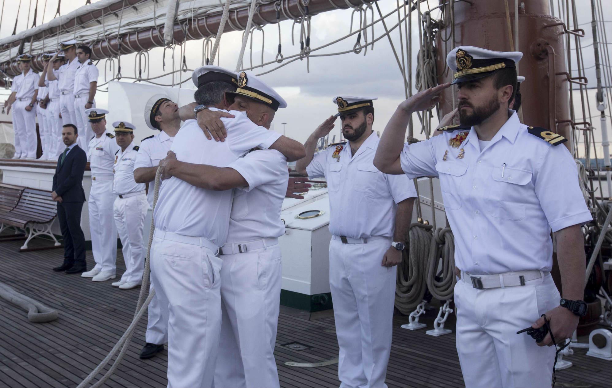 El Juan Sebastián de Elcano llega a Las Palmas