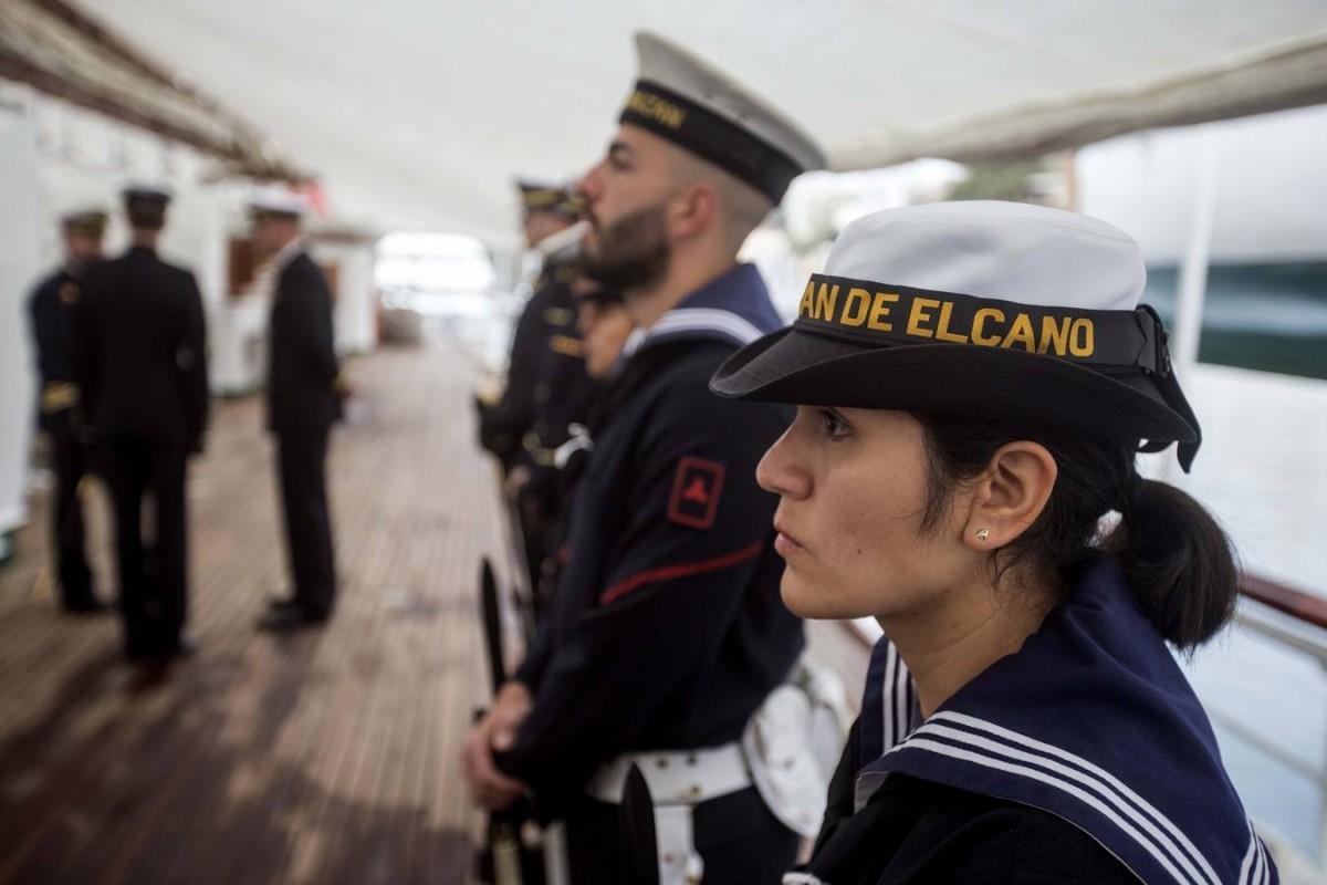Cambio de guardia en Elcano