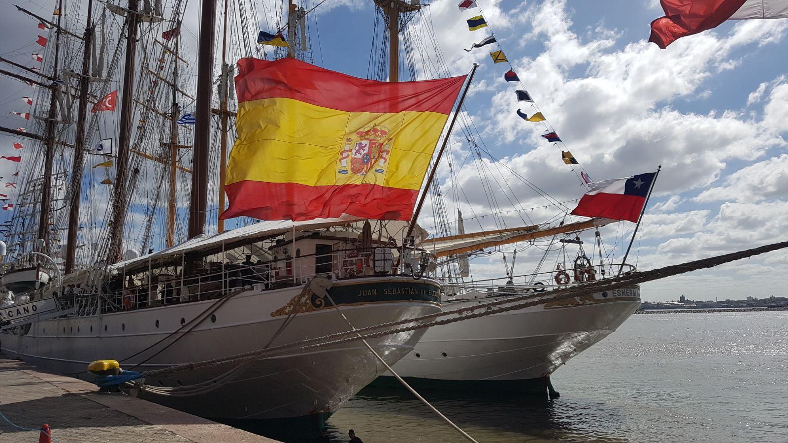 Velas Latinoamérica, la regata en la que el Elcano es el veterano