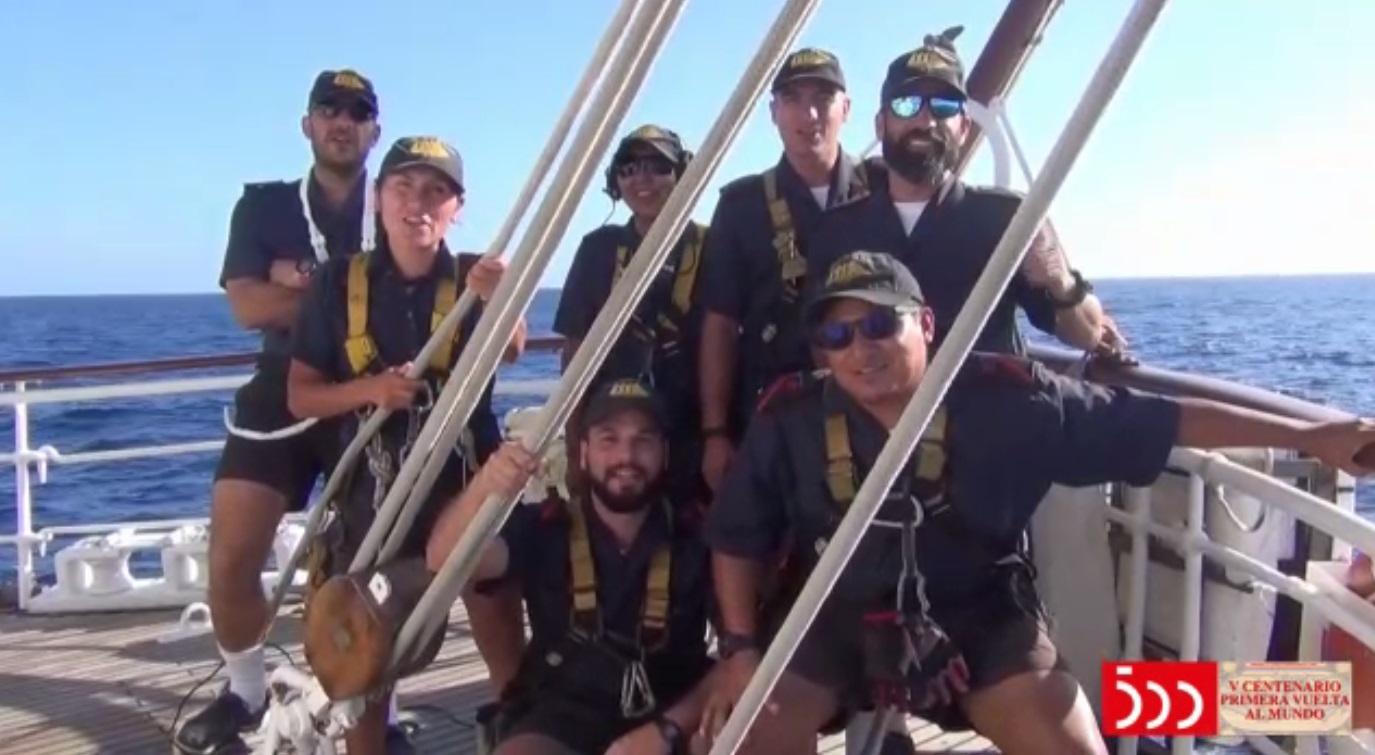 Los 90 años del Juan Sebastián de Elcano