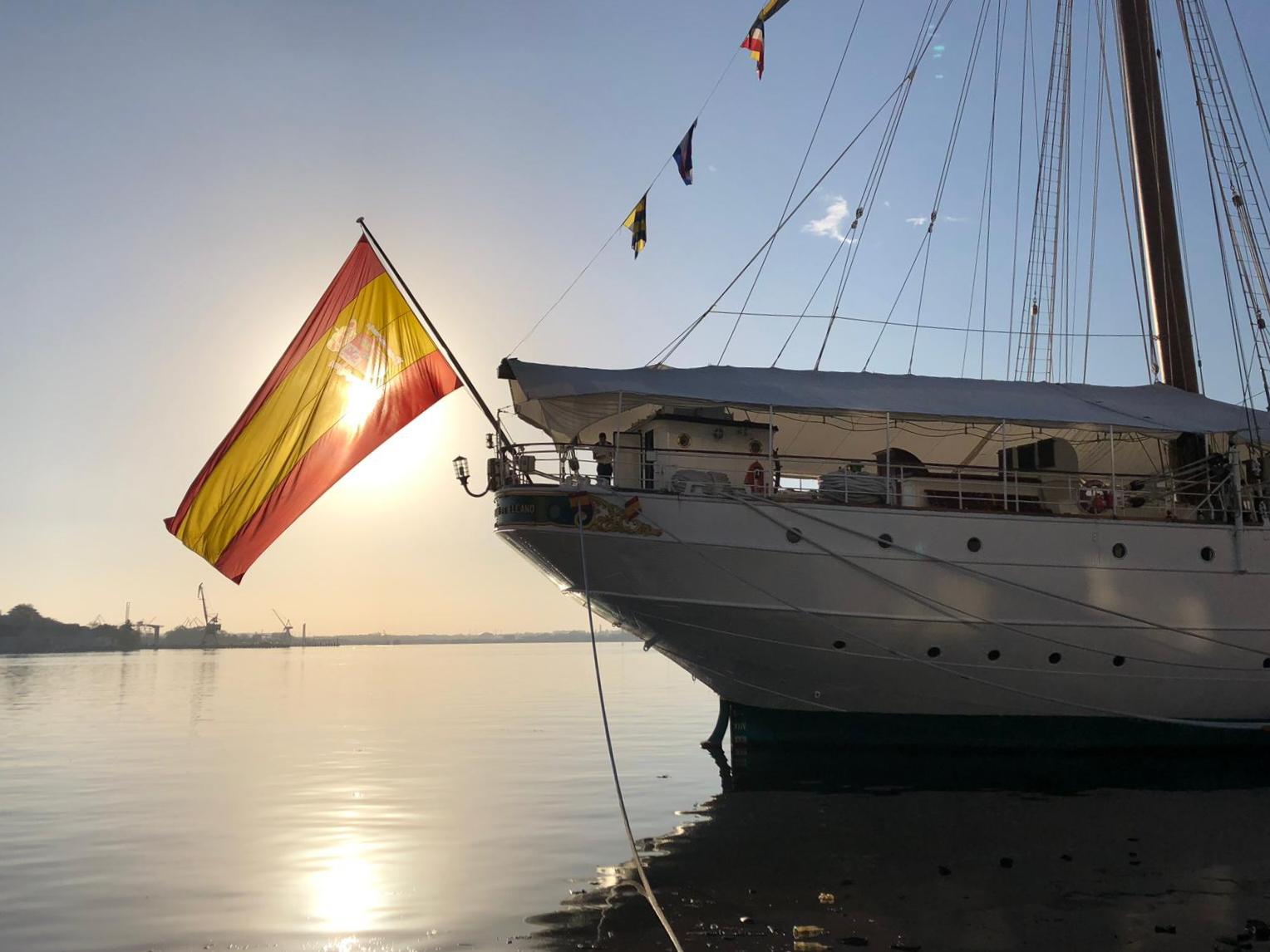 El Elacno en La Habana. Foto: Armada Española
