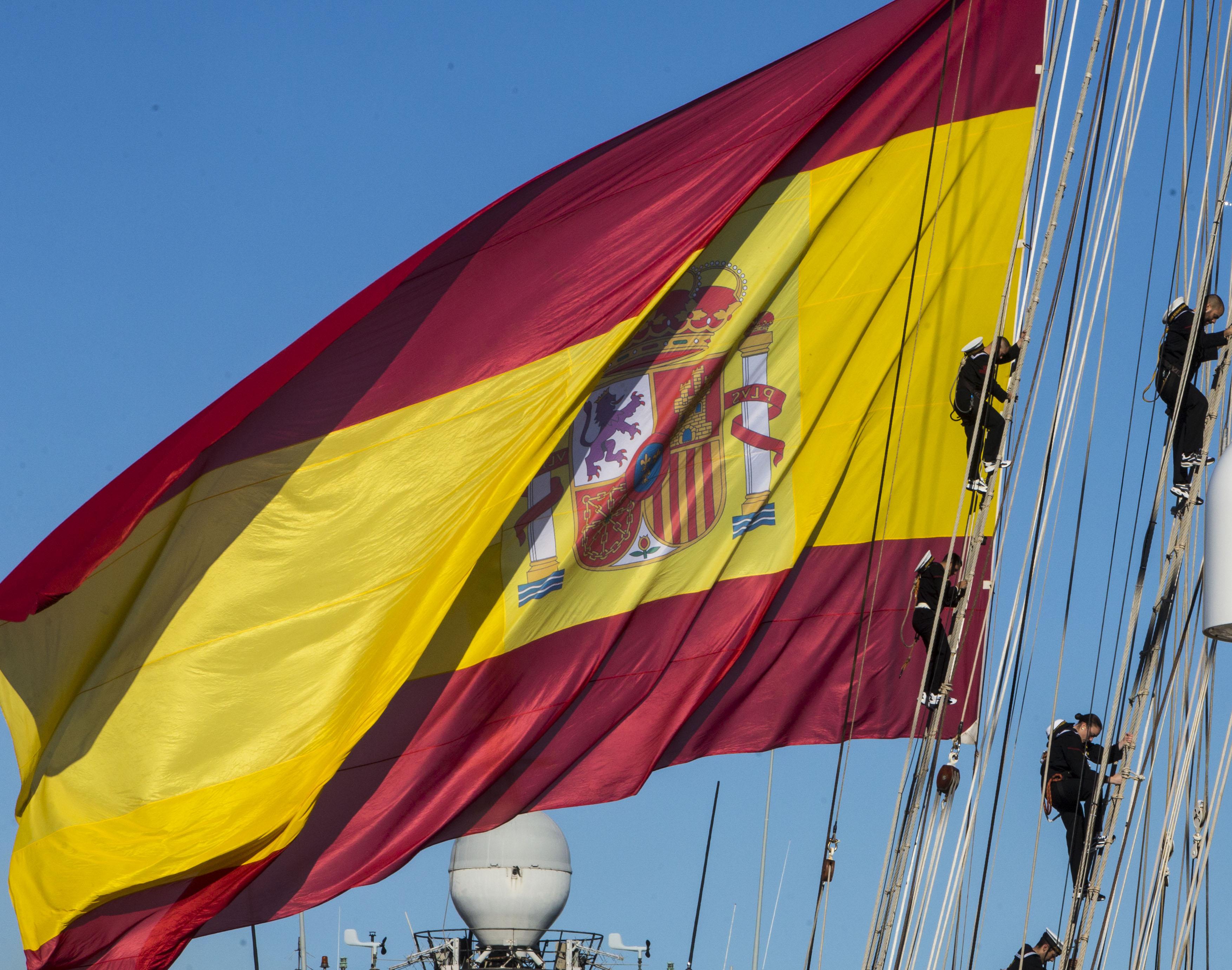 Desde el Juan Sebastián de Elcano en medio del océano Atlántico
