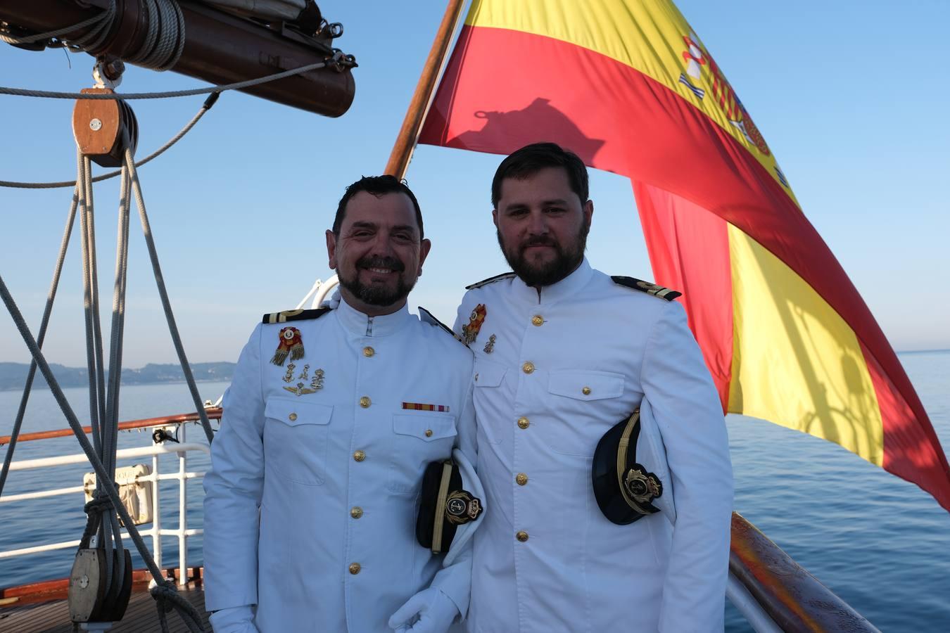 Ascensos a bordo del Juan Sebastián de Elcano
