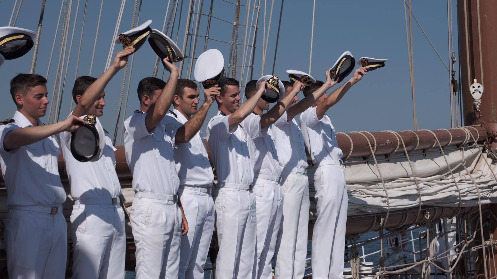 El buque escuela ha recibido más de 15.700 visitas